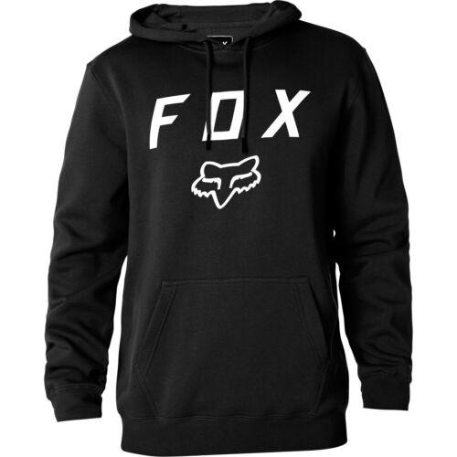 Fox Racing Héritage Moth Homme Sweat à capuche-Noir Toutes Tailles