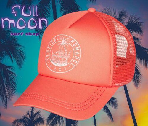 Nouveau ROXY Truckin Tropical Romance Femme Snapback Trucker Hat Cap