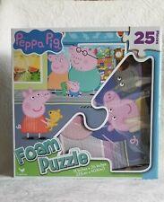 Peppa Pig Mega FOAM Mat PUZZEL 9 TILES  with Vehicle NEW  35X35  BB31A//2