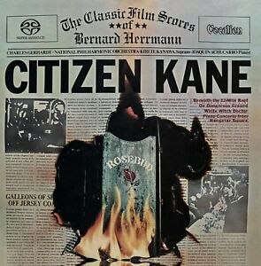 Ch. Gerhardt/Kiri Te Kanawa-Citizen Kane: The Classic Film Scores of B. Herrmann