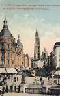 CPA BELGIQUE BELGIUM ANVERS 34 canal au sucre flèche de la cathédrale