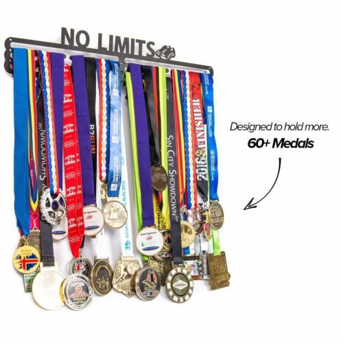 WR Medal holder Display Rack Running Medal Hanger Half Marathon Triathlon Thick