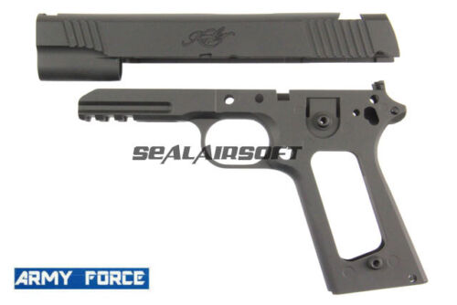 For Marui M1911 GBB Series Black ARMY-009 Army Force Metal Slide /& Body Kimber