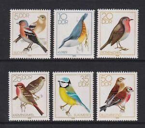Germany (East) - 1979, Song Birds set - MNH - SG E2098/2103