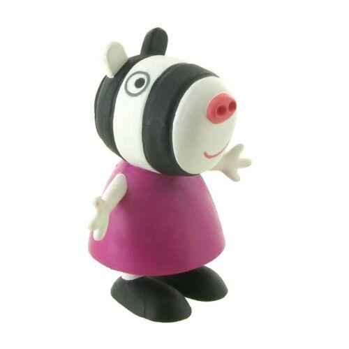 Peppa Pig figurine Zoe Cebra 5,5 cm Comansi figure 90153