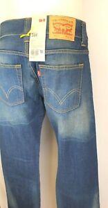 H16) Marken LEVI`S 506 Jeans Herren Regular Straight Gr. 31 / 32 Neu 99,95€
