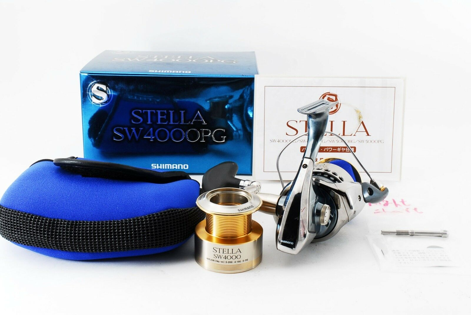 Excellent++  Shimano 01 Stella SW 4000 PG Spinning Reel 270364  take up to 70% off