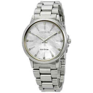 Citizen-Chandler-Eco-Drive-Diamond-White-MOP-Dial-Ladies-Watch-FE7030-57D