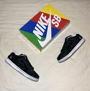 "Nike SB Dunk Low ""Medicom Toy"" (Size 10.5) Bearbrick Black Strangelove 2020"