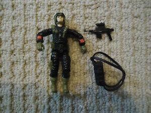 Vintage-GI-Joe-Crazylegs-V2-1988-Action-Figure-Hasbro-TRU-EX-w-Gun-Backpack