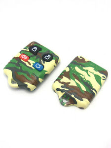 Brand-New-Dorman-Keyless-Remote-Fob-Case-amp-Buttons-for-Ford-Camo-13607GNC