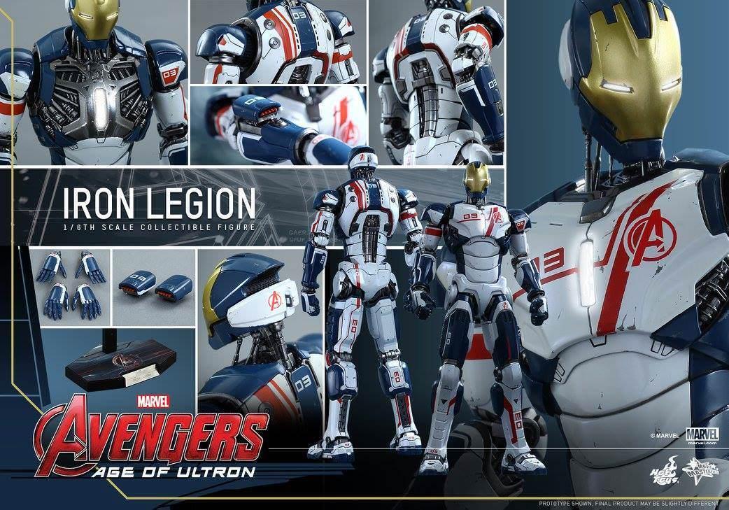 Hot Toys Iron Legion - Iron Man Avengers Age of Ultron MMS299 Mint New SEALED