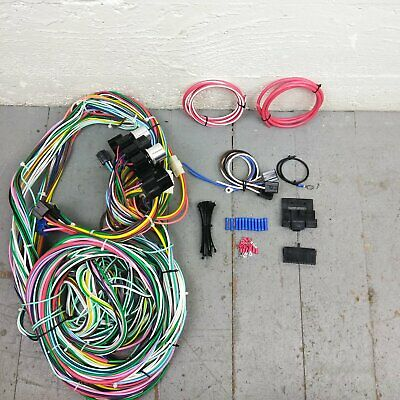 1966 - 1969 Chevrolet Chevelle Wire Harness Upgrade Kit fits painless fuse  block | eBayeBay