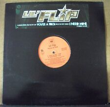 "LIL' FLIP You'ze A Trick 12"" OOP mid-00's rap Staybent"