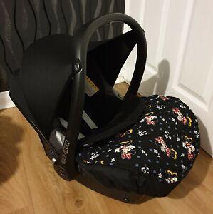 Universal Car Seat Footmuff To Fit Maxi Cosi Cabrio Black