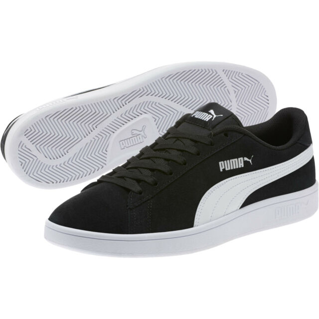 Puma Mens Smash V2 Suede Trainers Sports Shoes Lace Up Padded Ankle Collar