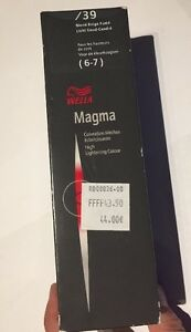 Neuf De Stock Coloration Wella 120 Grammes Magma 39 Blond Beige