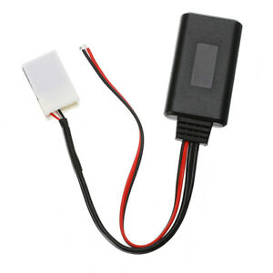Details about For Peugeot 207 307 407 Citroen C2 C3 RD4 Car 12Pin Bluetooth  Adapter Aux Cable