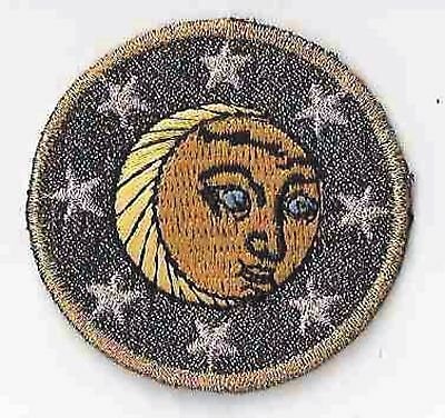 """2"""" Celestial Lunar Moon Star Embroidery Patch"""