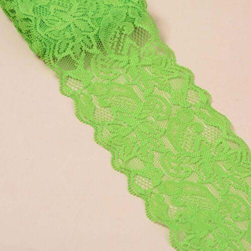 5 Yards Floral Elastic Stretch Lace Ribbon Trim Sewing Skirt Dress Handicrafts