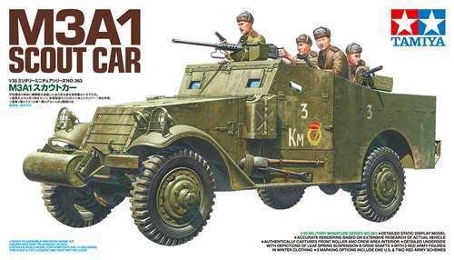 1 35 TAMIYA M3A1 SCOUT CAR