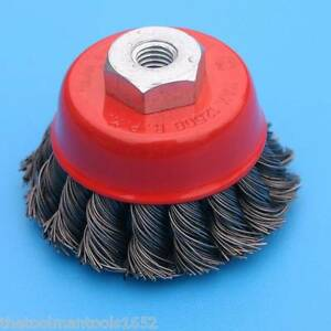 5 Quot Knot Type Fine Wire Cup Brush Czwwc5nf Ebay