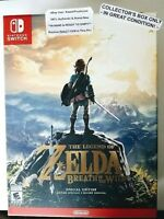 Legend Of Zelda Breath Of Wild Nintendo Switch Special Edition Box Only In-hand