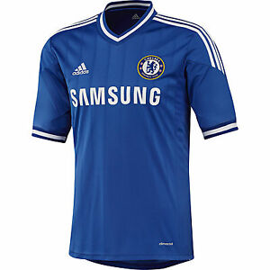 on sale e8632 28ed5 Details about ADIDAS CHELSEA FC HOME JERSEY 2013/14