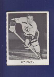 Leo-Boivin-1965-66-Coca-Cola-Coke-Cards-Hockey-VGEX-Boston-Bruins