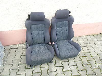 vordersitze sitze fahrersitz beifahrersitz seats mitsubishi 3000gt gto gen 2 ebay. Black Bedroom Furniture Sets. Home Design Ideas