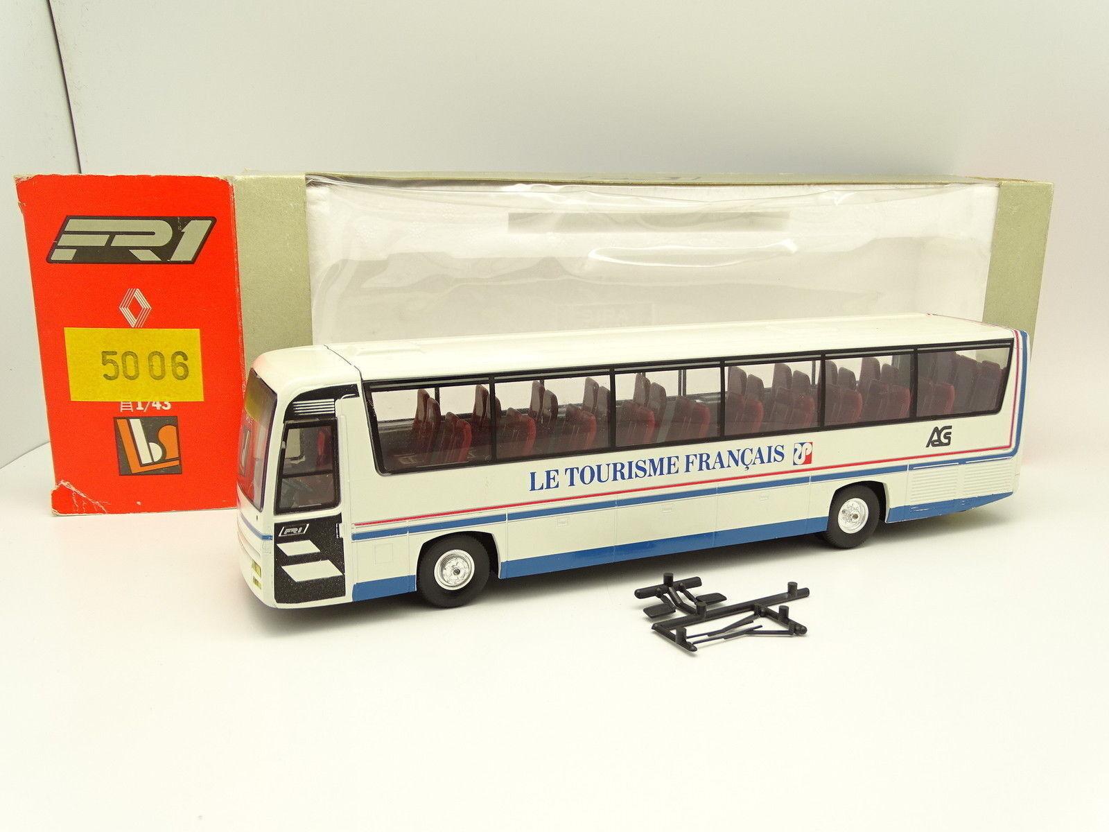 Eligor LBS 1 43 - Bus Car Autocar Renault FR1 Le Tourisme Français
