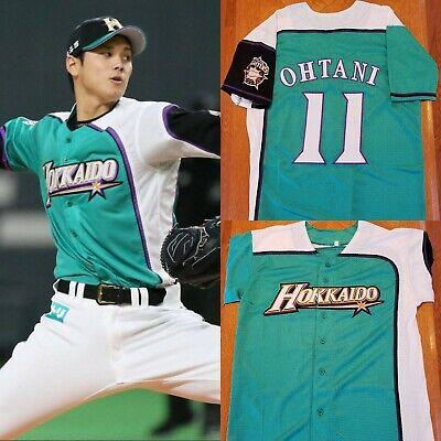 quality design 28a0c 25a09 Men's Shohei Ohtani Hokkaido Nippon-Ham Fighters Baseball jersey  (S,M,L,XL,2XL)   eBay