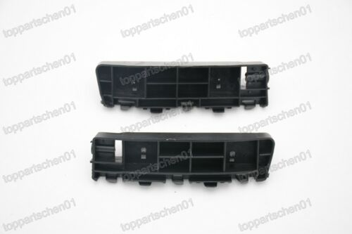 Front Bumper Bracket Support Retainers Set for Honda Accord 2009-2010