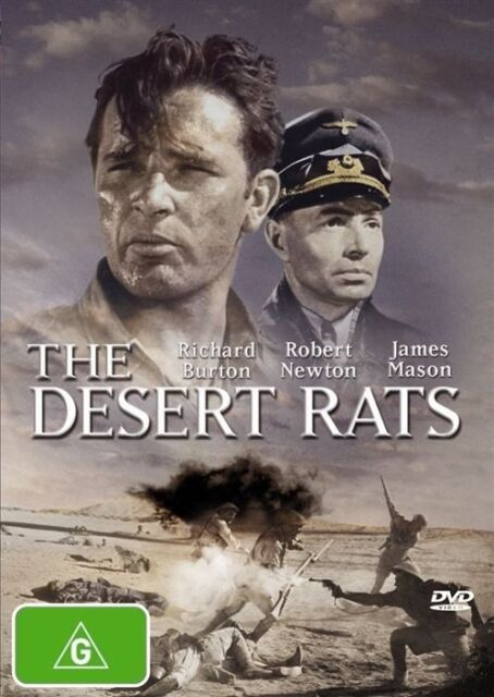 The Desert Rats (DVD, 2007 release)