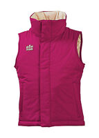 Youth Girls Burton Reversible Vest Ski Snow Snowboard Winter Glam Pink Size L