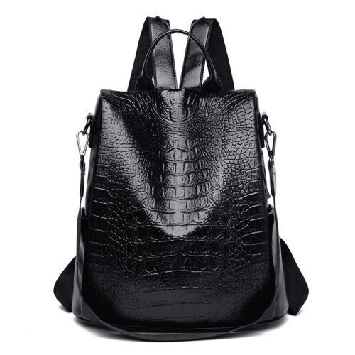 Ladies Women Multi Designed Leather//Nylon Backpack Shoulder Bag Handbag Tote
