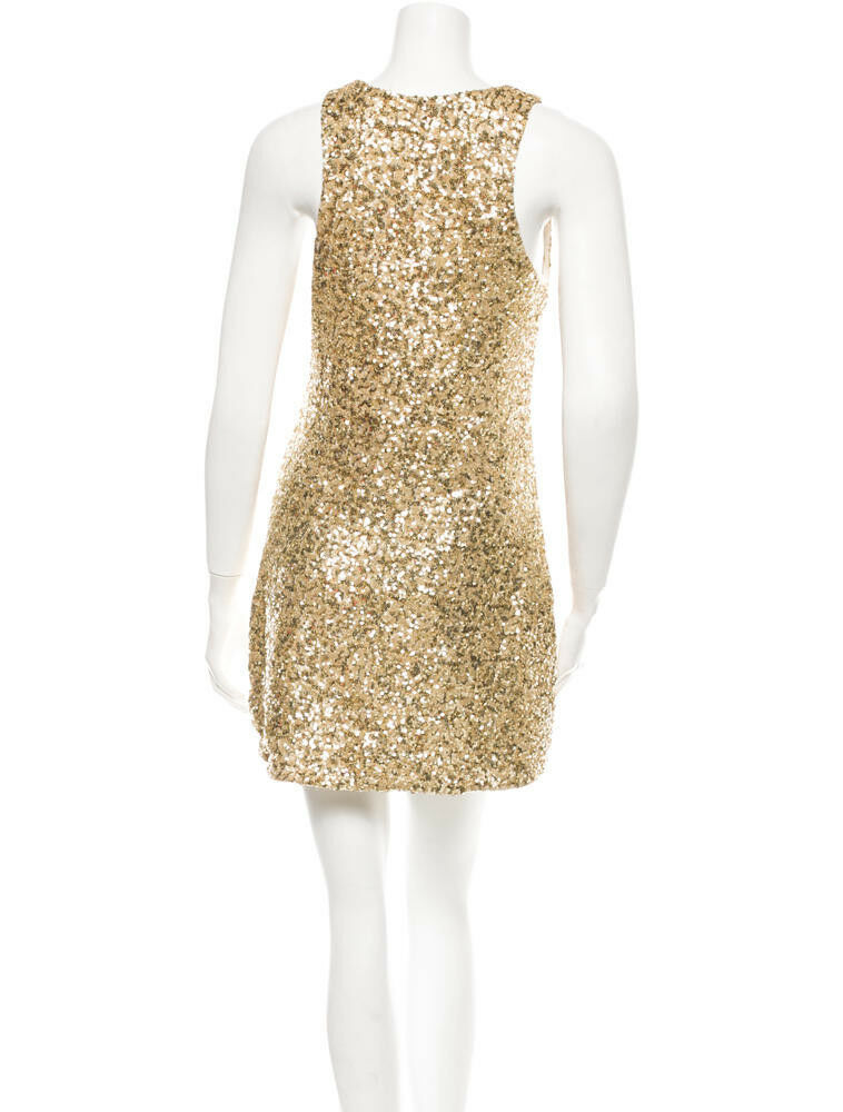 gold Sequin Alice + Olivia dress - Size Size Size 4 - Very Good Condition  7dba1c