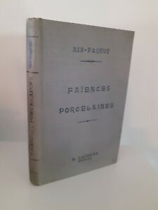 Loza-de-Barro-Porcelana-ARTE-DE-Restaurar-Ris-Paquot-H-Laurens-Paris-32-Figuras