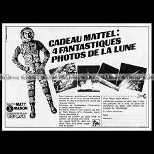 MAJOR MATT MASON Mattel 1969 - Pub / Publicité / Original Advert Ad #B414
