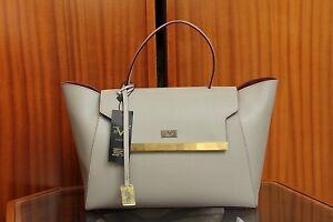 9eecd90e28 VERSACE 19.69 Women s 100% Leather Sand Beige Large Handbag Free P P ...