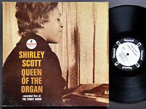 SHIRLEY-SCOTT-Queen-Of-The-Organ-LP-IMPULSE-A-81-US-1965-JAZZ-RVG-MONO-PROMO