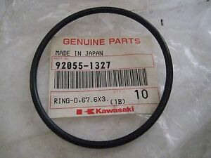 KAWASAKI JET SKI JH1200 CRANKCASE O-RING/MULE 1000 ENGINE COVER O-RING NOS!