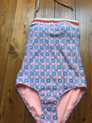 Multi-colour Swimming Costume Swimsuit Size 12 Marks and Spencer
