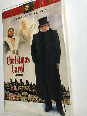 George C Scott A Christmas Carol.A Christmas Carol George C Scott Family Feature Vhs