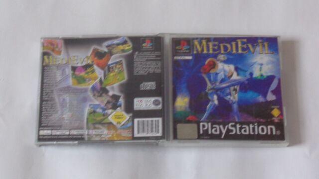 MediEvil ps1 spiel Sony PlayStation 1 cd neuwertig