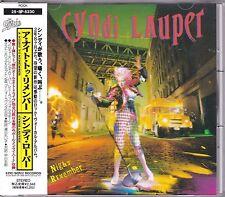 Free Ship Cyndi Lauper A Night To Remember CD JAPAN OBI +1 Bonus Track 1989