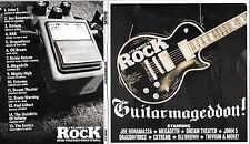 1  promo cd classic rock guitarmageddon heavy metal megadeth trivium dragonforce