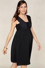 BNWT NEXT Black MATERNITY Chiffon Baby Doll Evening Party Dress Size 12
