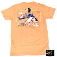 Drake Waterfowl Southern Collection Rising Drake S/s T-shirt Melon Small