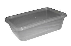 Image Is Loading Microwave 650ml Safe Plastic Food Storage Container Lids